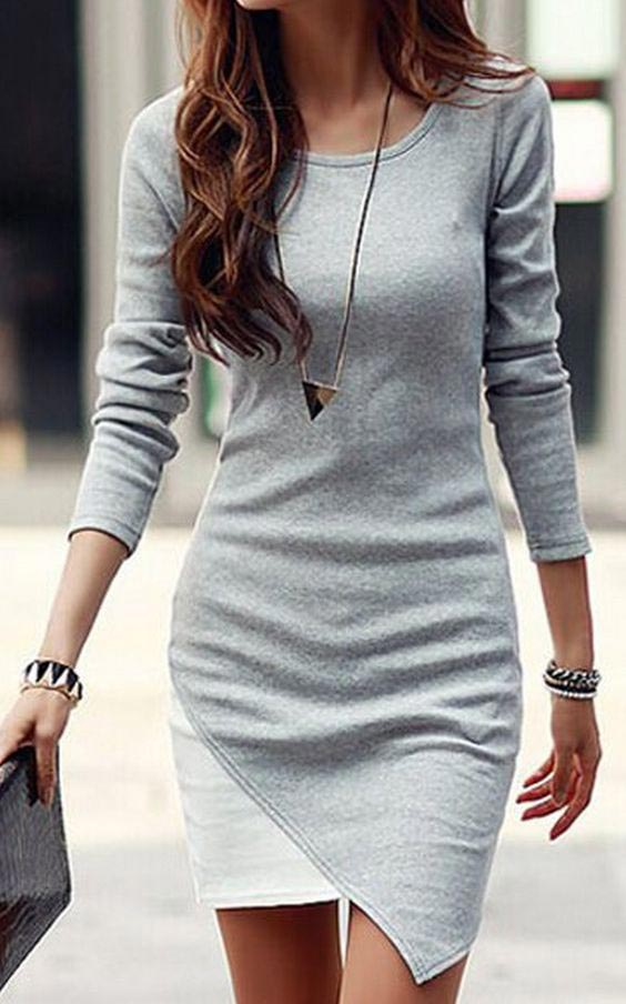 fall outfits-gray