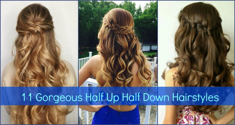Half Up Down Hairstyles