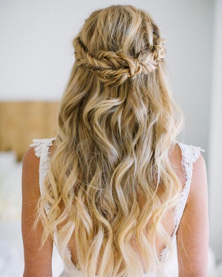 Wedding Hairstyle Beach: 11 Gorgeous And Elegant Half Up Half Down Hairstyles