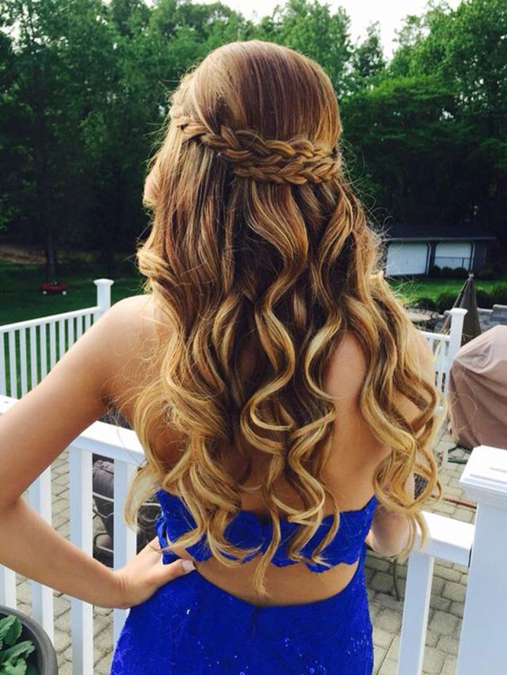 11 Gorgeous Half Up Half Down Hairstyles
