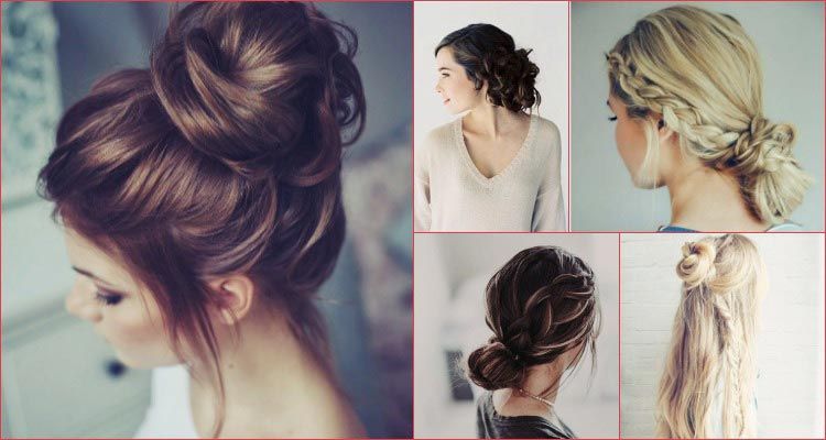 easy messy hairstyle tutorials