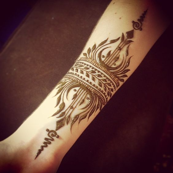 Henna Arm Tattoo: Top 10 Henna Wrist Cuff Designs To Try On Any Occassion