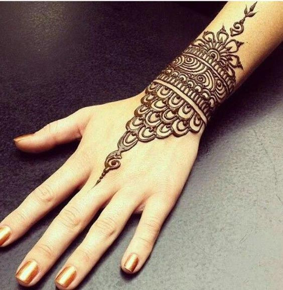 Wrist Mandala Tattoos Henna: Top 10 Henna Wrist Cuff Designs To Try On Any Occassion