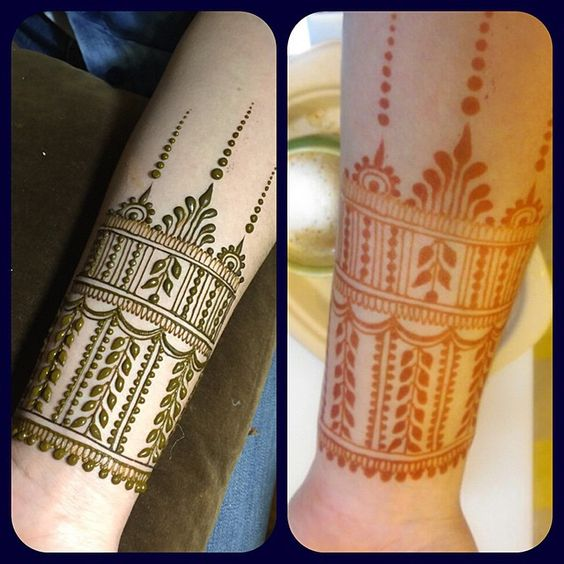 Simple Henna Wrist Designs For Beginners: Top 10 Henna Wrist Cuff Designs To Try On Any Occassion
