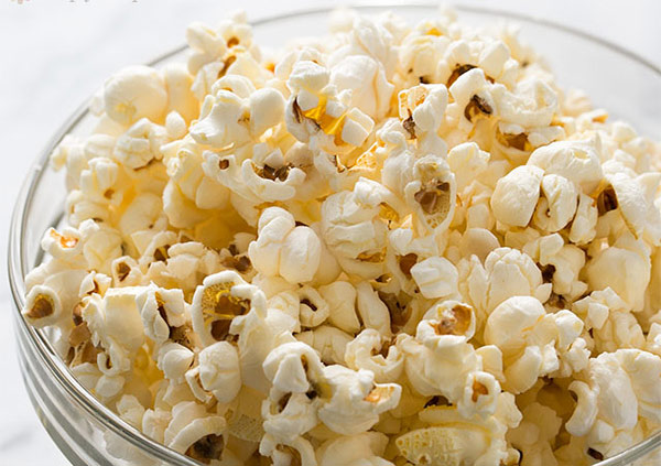 Salty Popcorn healthy snacks