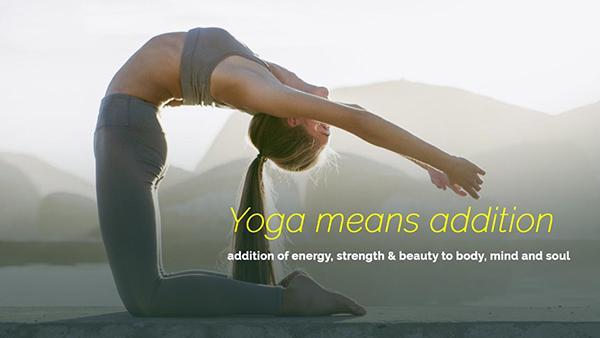 Yoga means Addiction