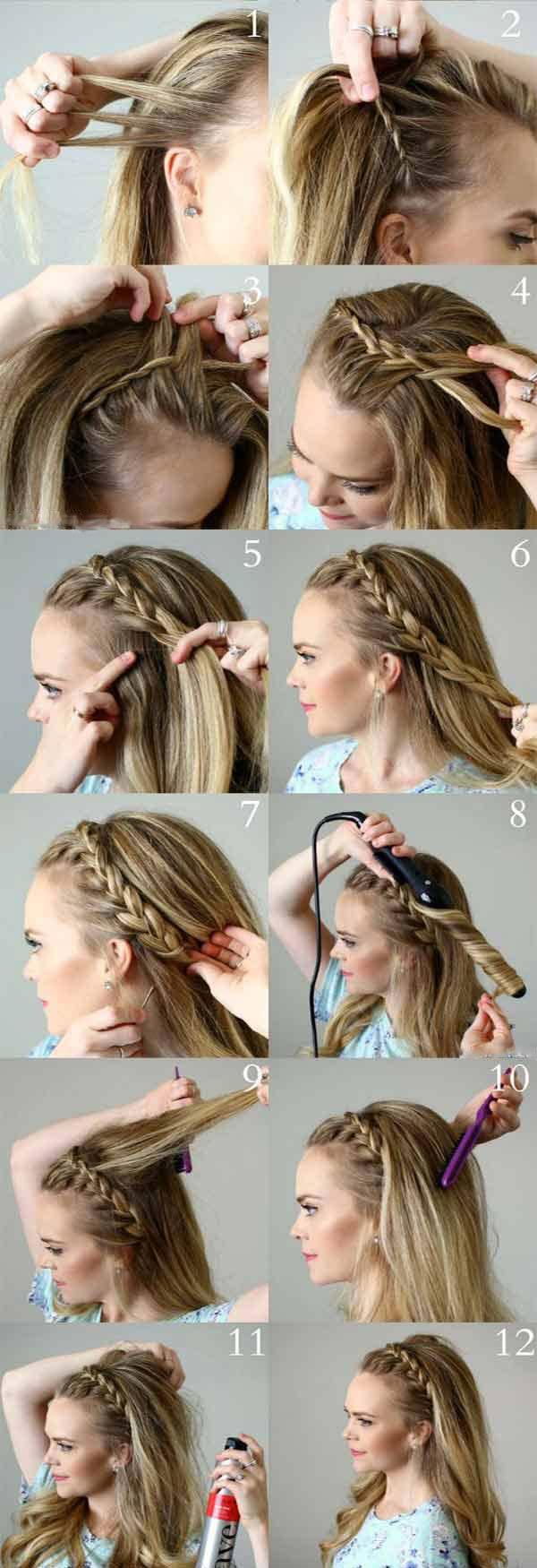 Braided Headband Style