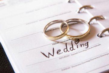 Organize wedding ceremony on budget