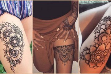 Mehndi Patterns For Shoulder : 19 beautiful feather henna designs you will love to try