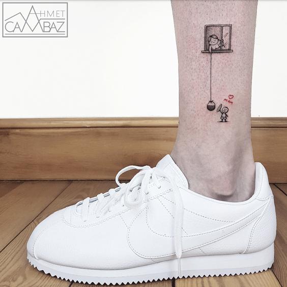 Tattoo of a memory