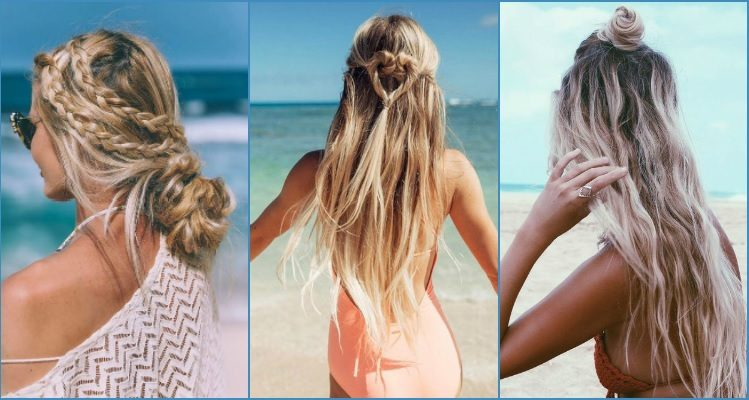 Beach hairstyles