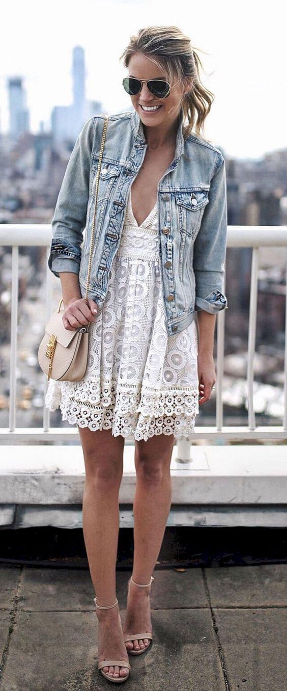 Denim jacket summer trends