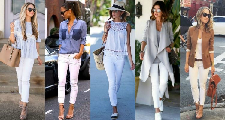 style white jeans