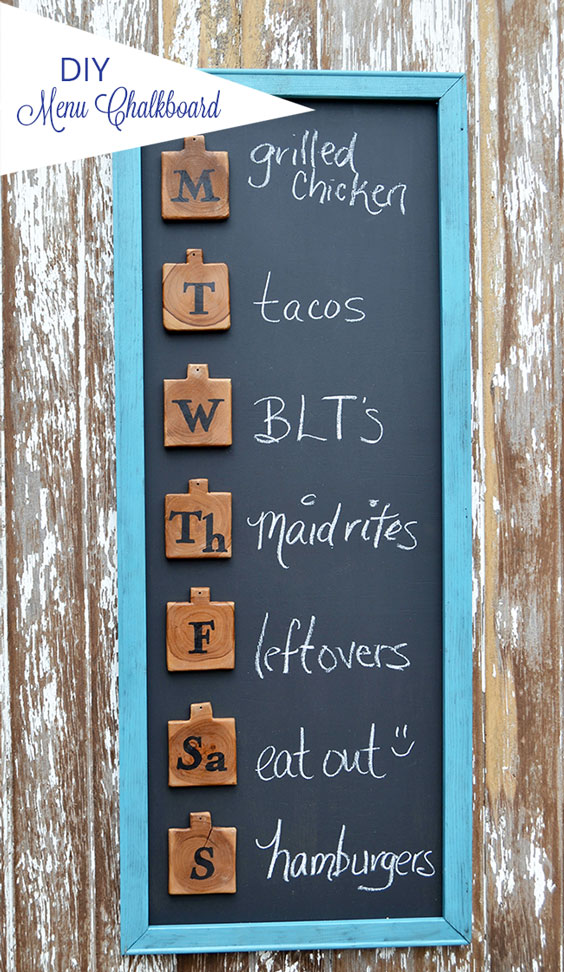 menu-board home decor ideas