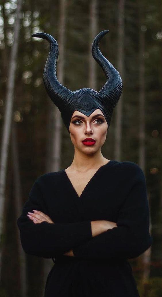 Maleficent halloween costume ideas