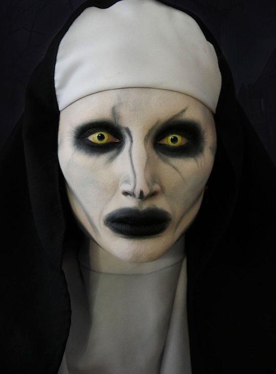 The Scary Nun halloween costume ideas
