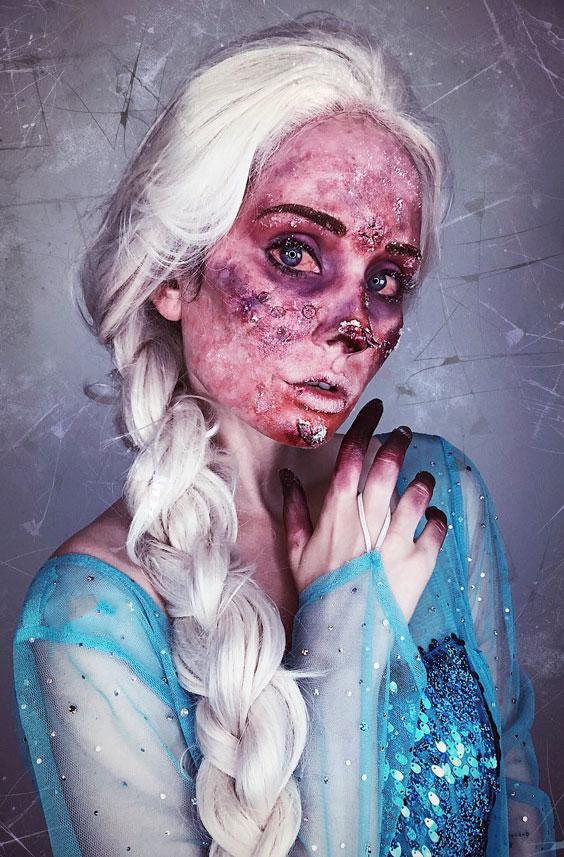 Twisted Elsa halloween costume ideas