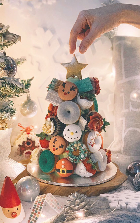Cupcakes or Christmas tree Cake