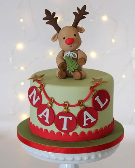 Lovely NATAL Cake