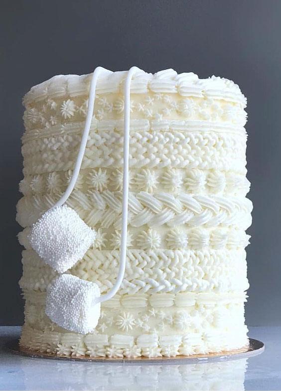 Sweater Cake