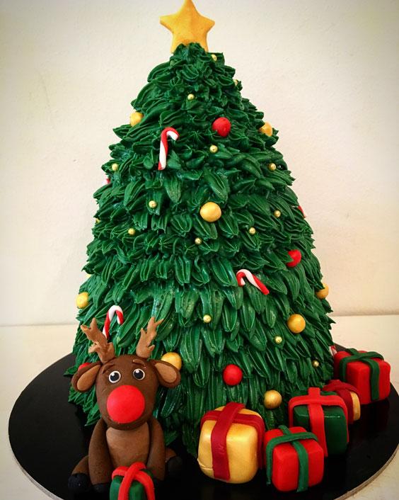 The Xmas Tree Cake