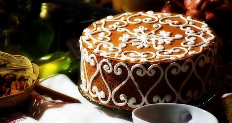 christmas cake designs 2018