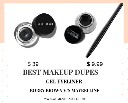 eyelinear makeup dupes