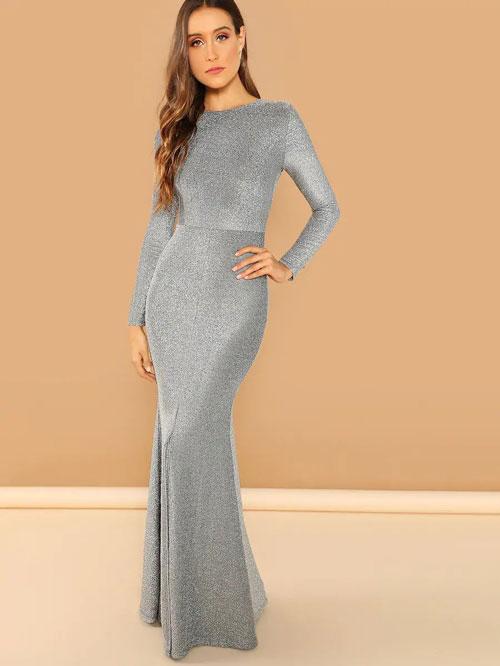 mermaid & seath-dress evening wedding dress