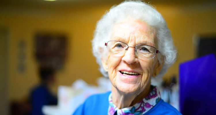 Assisted Living Guide Of Old People with Senior Care Center