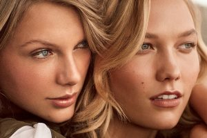 trending on Taylor Swift and Karlie Kloss
