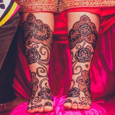 Floral Mehendi Designs