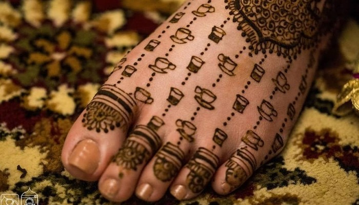 Personalised mehndi designs