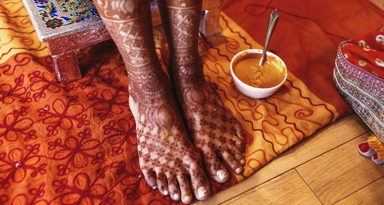 Trendy Feet Mehendi Designs